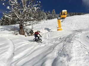 cyclisme en hiver