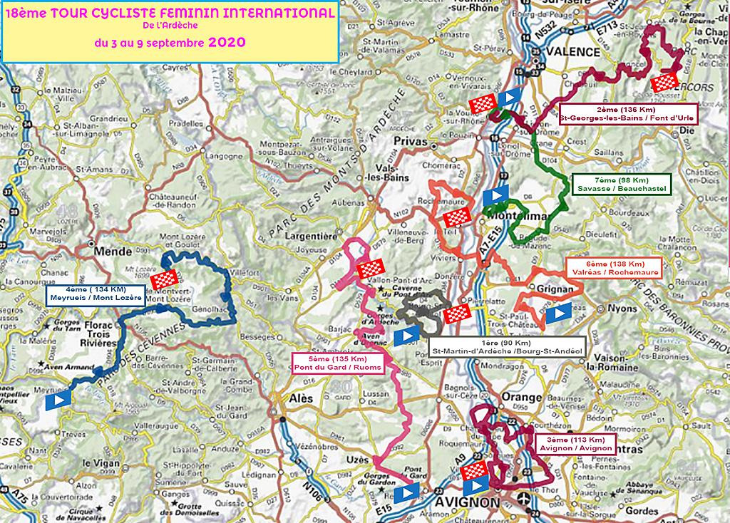 Tour cycliste féminin internationale de l'Ardèche
