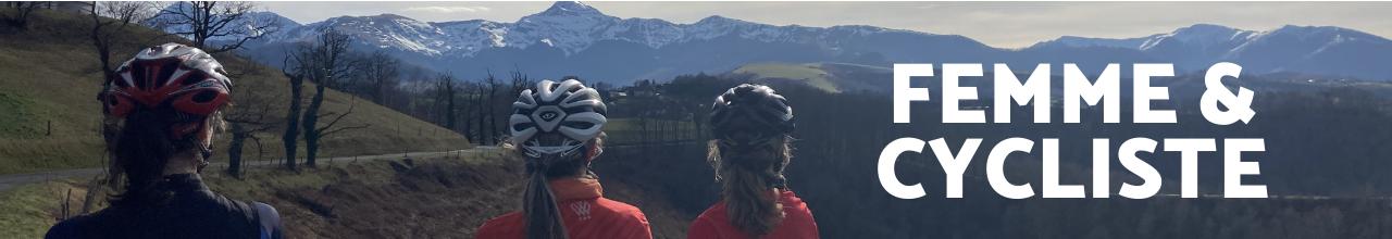 Femme et Cycliste