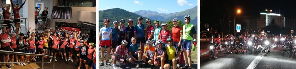 le club femme et cycliste